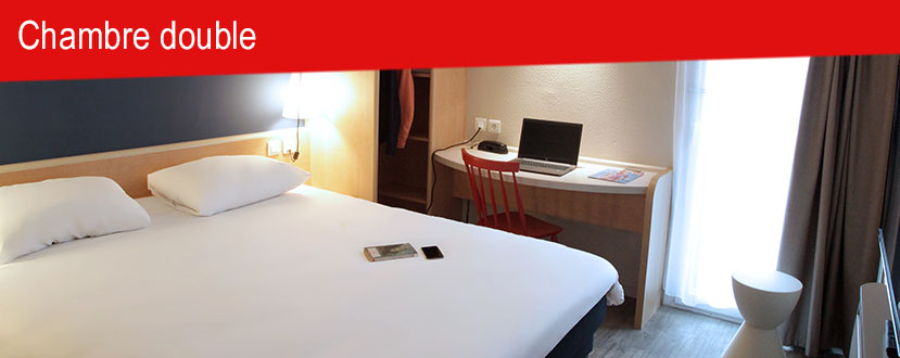Chambre double hotel brest