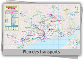 plan transport Brest